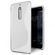 Прозрачный силиконовый чехол для Nokia 5
