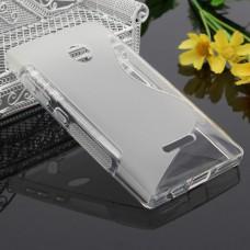 Прозрачный силиконовый чехол для Nokia Lumia 435/532