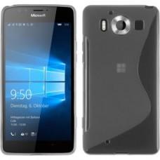 Прозрачный силиконовый чехол для Nokia Microsoft Lumia 950