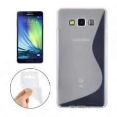 Прозрачный силиконовый чехол для Samsung A3 2017