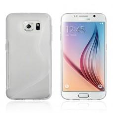 Прозрачный силиконовый чехол для Sasmung Galaxy S6