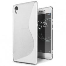 Прозрачный силиконовый чехол для Sony Xperia XA1