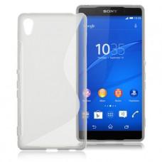 Прозрачный силиконовый чехол для Sony Xperia Z3+
