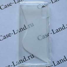 Прозрачный силиконовый чехол для Sony Xperia XZ/XZs