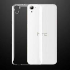 Прозрачный силиконовый чехол HTC Desire 828