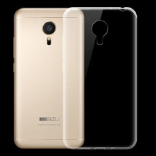 Прозрачный силиконовый чехол для Meizu MX5