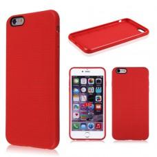 Красный силиконовый чехол для Iphone 6 Plus