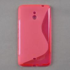 Красный силиконовый чехол для Nokia Lumia 1320