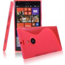 Красный силиконовый чехол для Nokia Lumia 1520