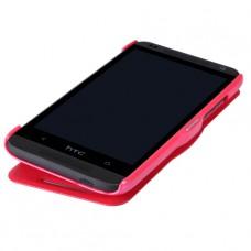 Красный чехол книжка Nillkin для HTC Desire 601