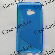 Синий силиконовый чехол для HTC U Play