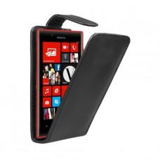 Кожаный чехол - вертикальная книжка для Nokia Lumia 720