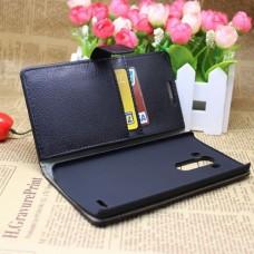 Кожаный чехол книжка для LG G3 (D855)