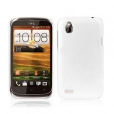 Белый пластиковый чехол для HTC Desire V