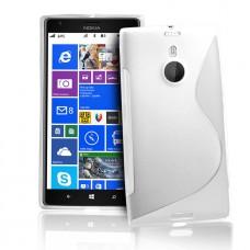 Белый силиконовый чехол для Nokia Lumia 1520
