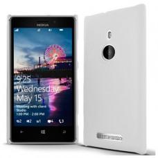 Белый пластиковый чехол для Nokia Lumia 925