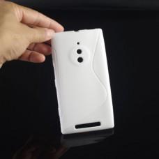 Белый силиконовый чехол для Nokia Lumia 830