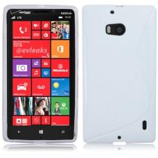 Белый силиконовый чехол для Nokia Lumia 930