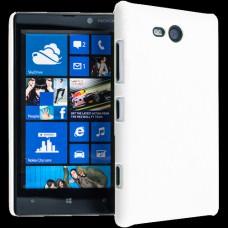 Белый пластиковый чехол для Nokia Lumia 820
