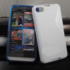Белый силиконовый чехол для BlackBerry z30