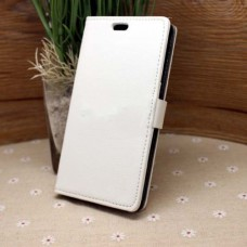 Белый чехол книжка для Nokia Lumia 830