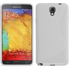 Белый силиконовый чехол для Samsung Galaxy Note 3 Neo