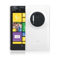 Белый пластиковый чехол для Nokia Lumia 1020