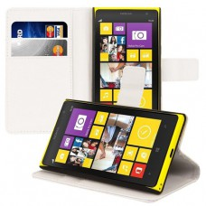 Белый чехол книжка для Nokia Lumia 1020