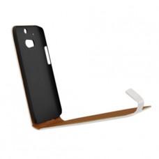 Белый чехол книжка (flip case) для HTC One M8/M8s