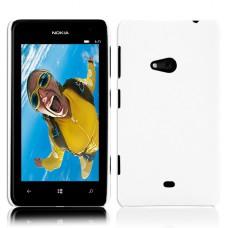 Белый пластиковый чехол для Nokia Lumia 625