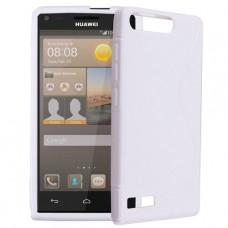 Белый силиконовый чехол для Huawei Ascend G6