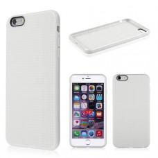 Белый силиконовый чехол для Iphone 6 Plus