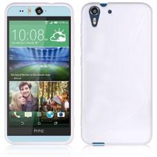 Белый силиконовый чехол для HTC Desire Eye
