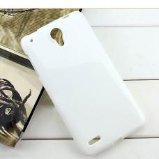 Белый силиконовый чехол для Lenovo s890