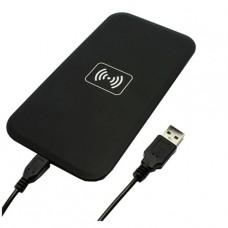 Беспроводное зарядное устройство для смартфонов черное