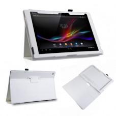 Белый чехол для Sony Xperia Z2 Tablet