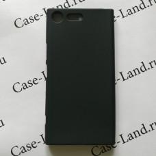 Черный силиконовый чехол для Sony Xperia XZ Premium