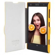 Желтый чехол книжка Nillkin для Nokia Lumia 1020