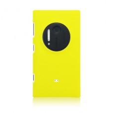 Желтый пластиковый чехол для Nokia Lumia 1020