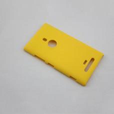 Желтый пластиковый чехол для Nokia Lumia 925