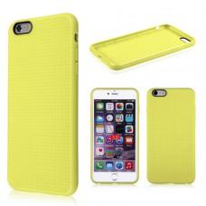 Желтый силиконовый чехол для Iphone 6 Plus