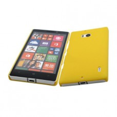 Желтый пластиковый чехол для Nokia Lumia 930